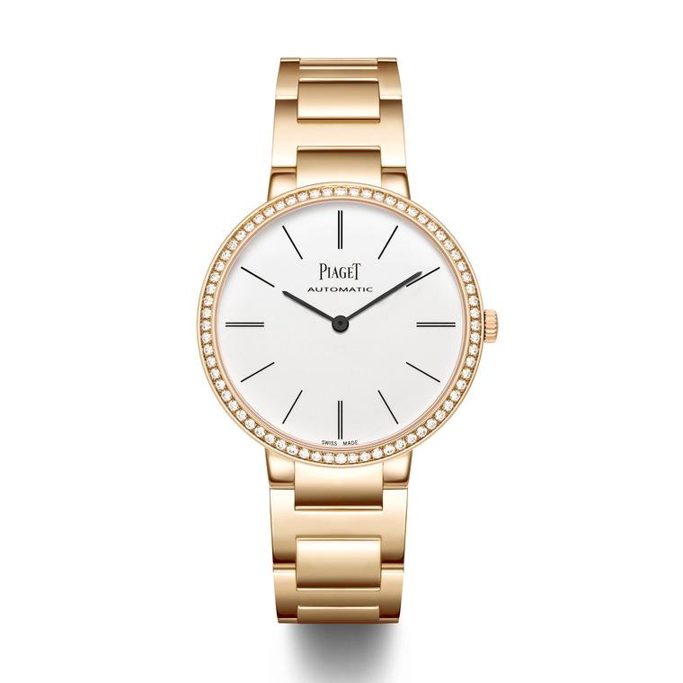 Piaget Altiplano watch rose gold bracelet with diamonds_zoom