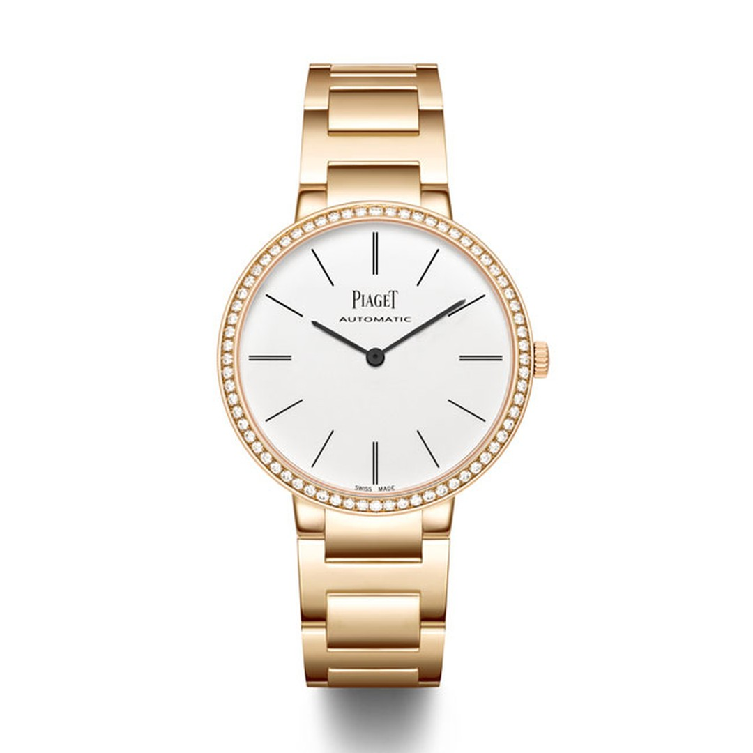Piaget Altiplano watch rose gold bracelet with diamonds_main