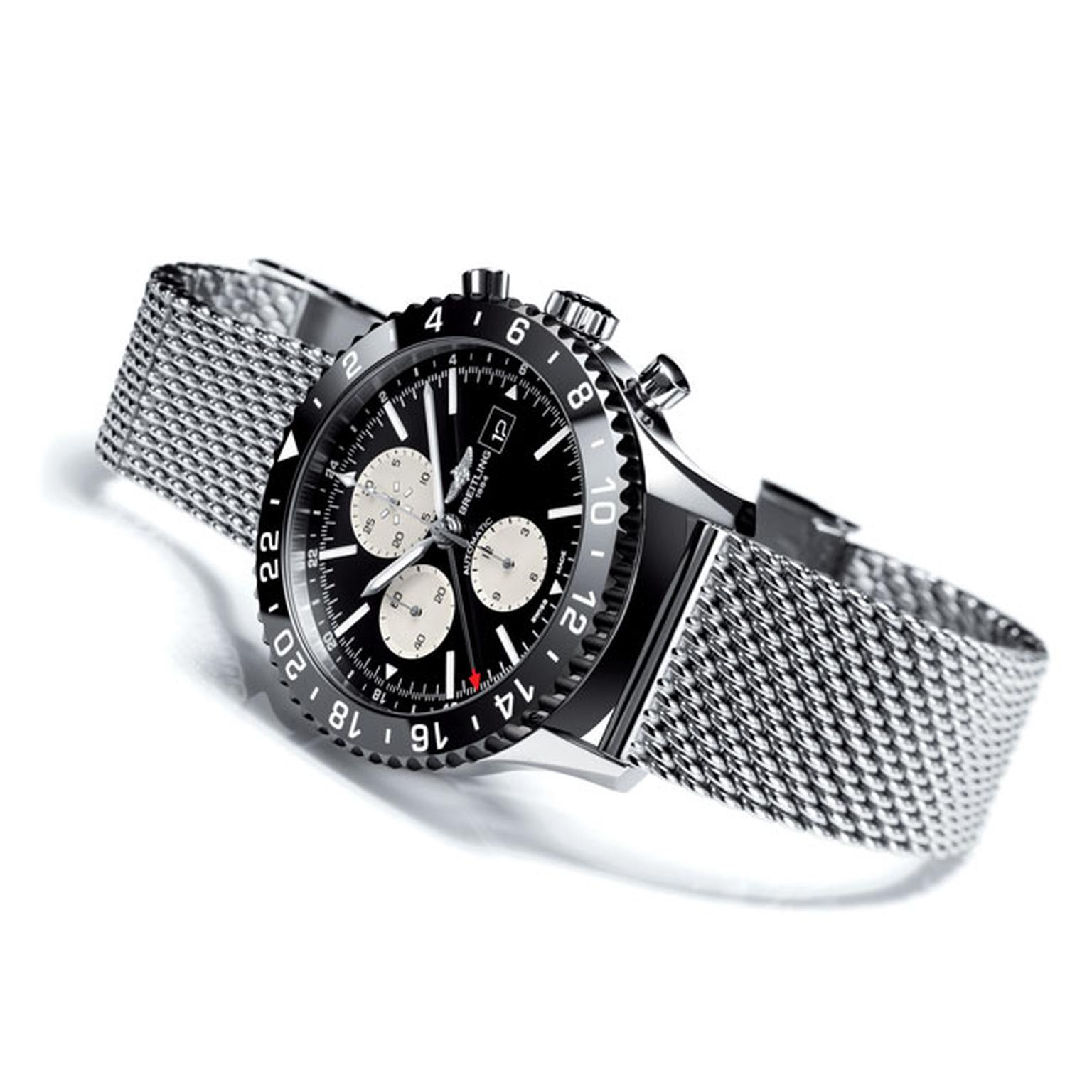 Breitling Chrono Liner Watch_main