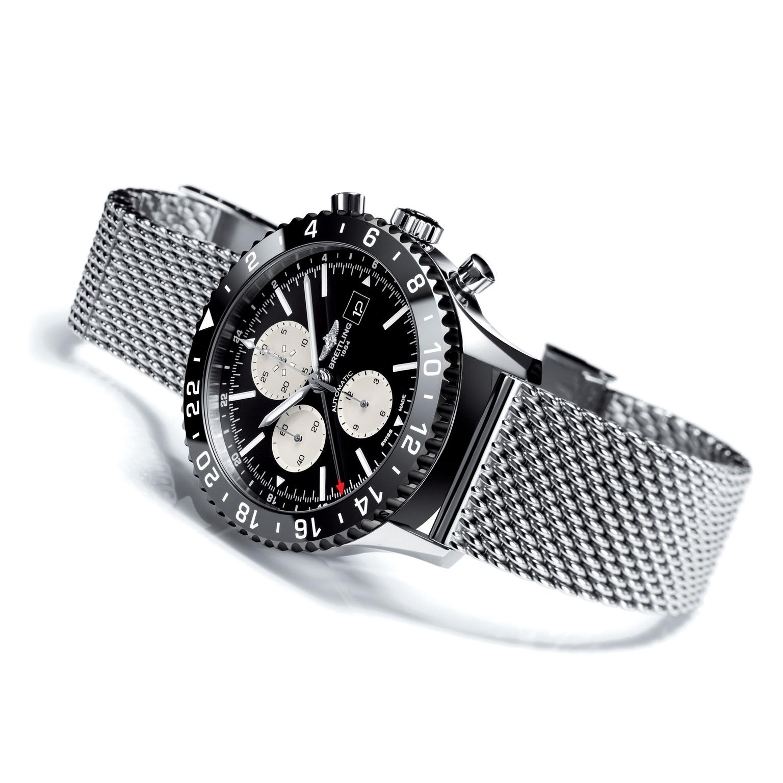 Breitling Chrono Liner Watch_zoom