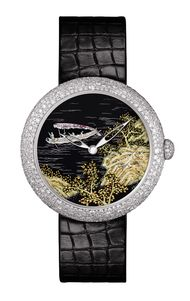 New Chanel Mademoiselle Prive watches with hand enamelled dials
