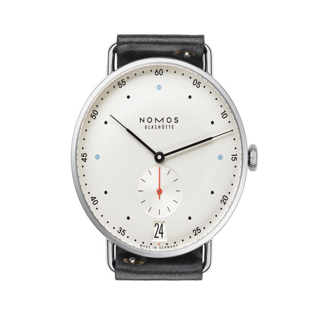 Nomos Glashütte Metro Datum watch_main
