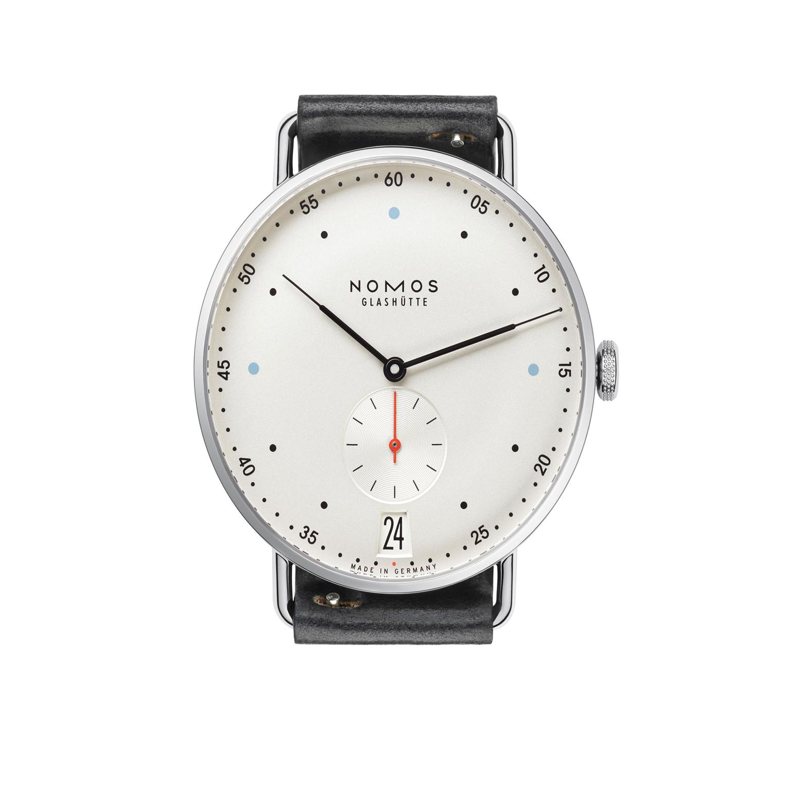 Nomos Glashütte Metro Datum watch_zoom