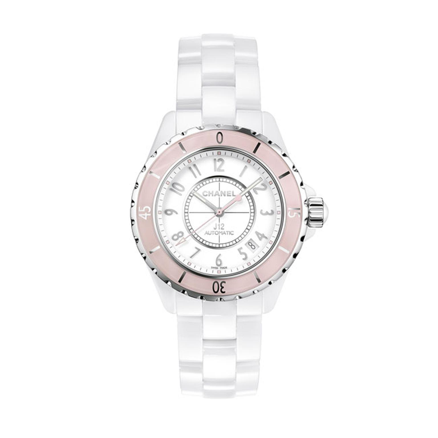 Chanel J12 38mm Rose ladies watch_main