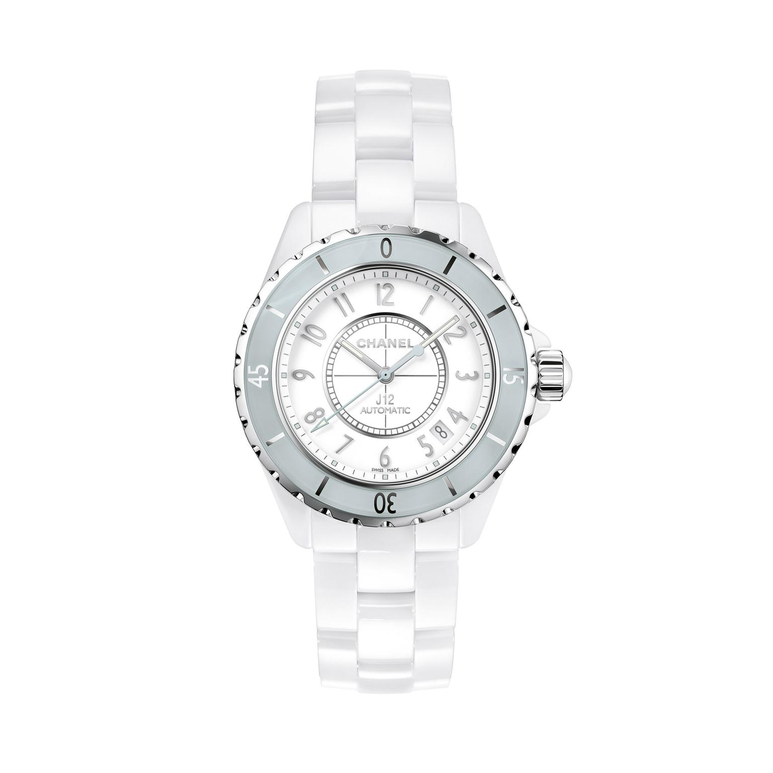 Chanel J12 38mm Mint ladies watch_zoom
