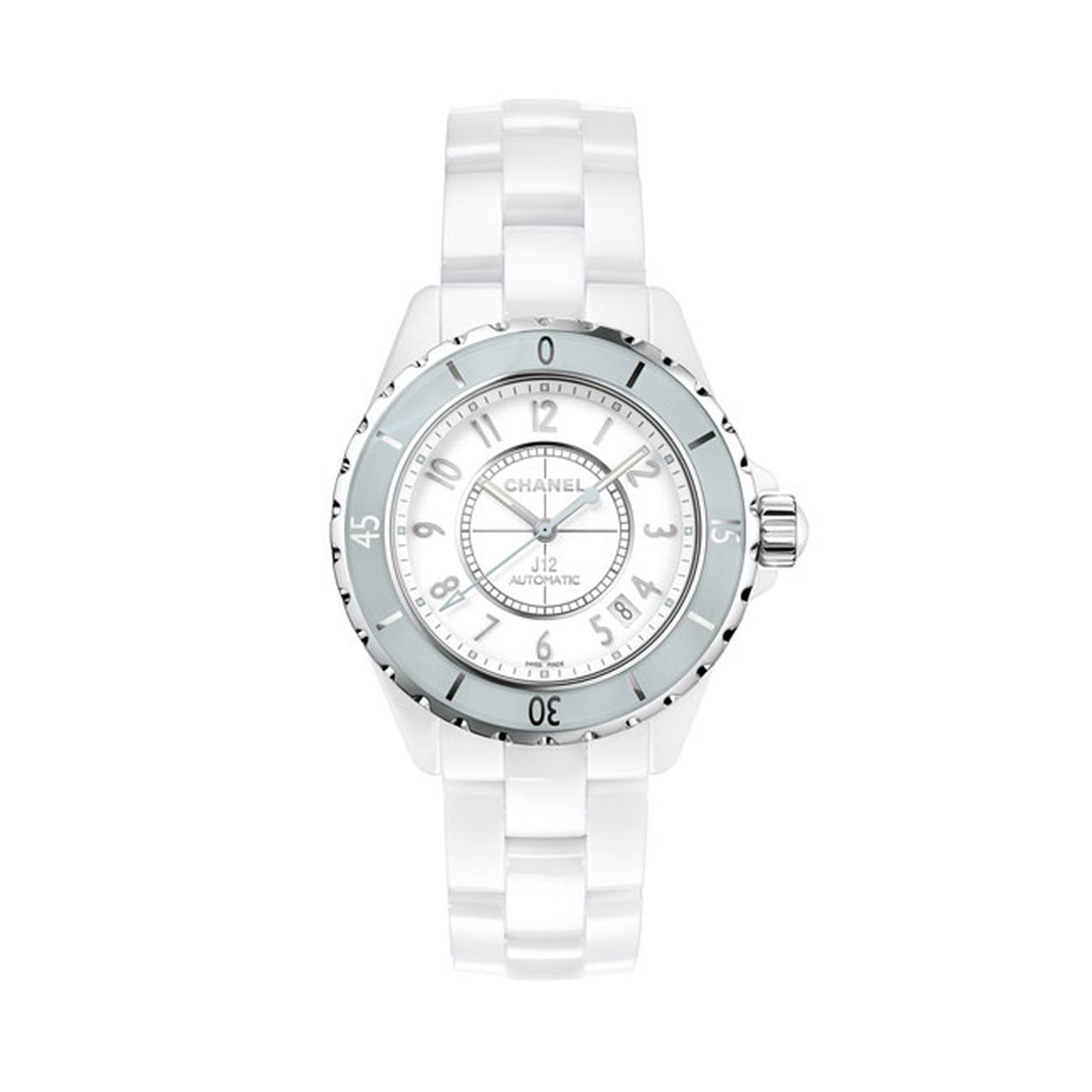 Chanel J12 38mm Mint ladies watch_main