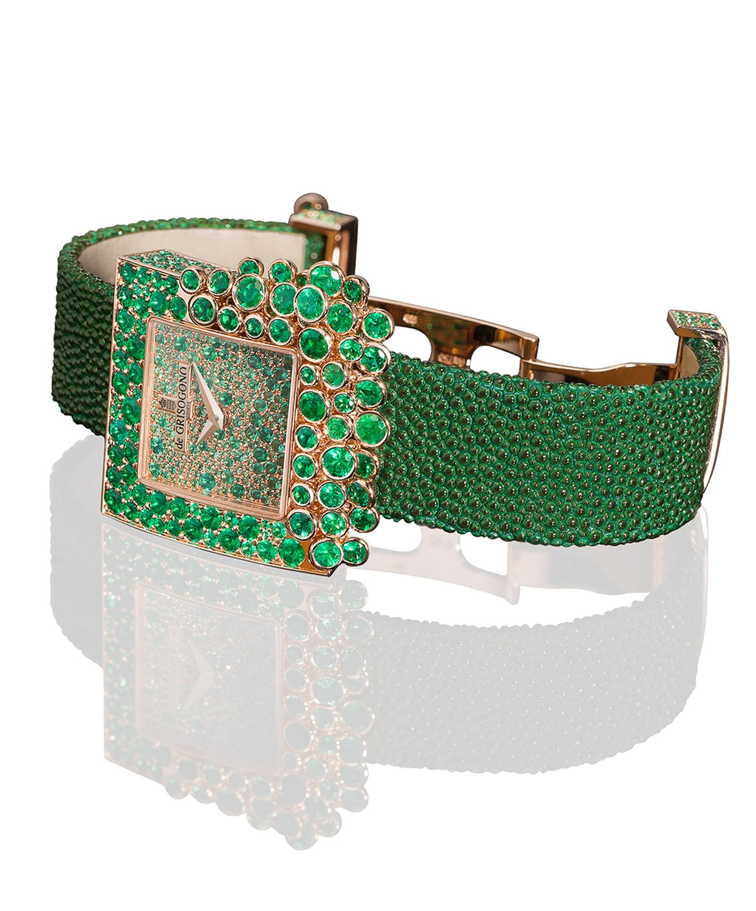 deGRISOGONO-SUGAR-WATCH-GREEN-S15-WB