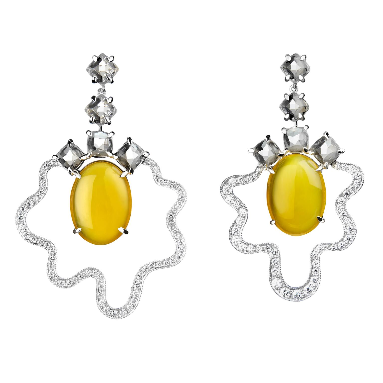 Tessa Packard Fried Egg Earrings