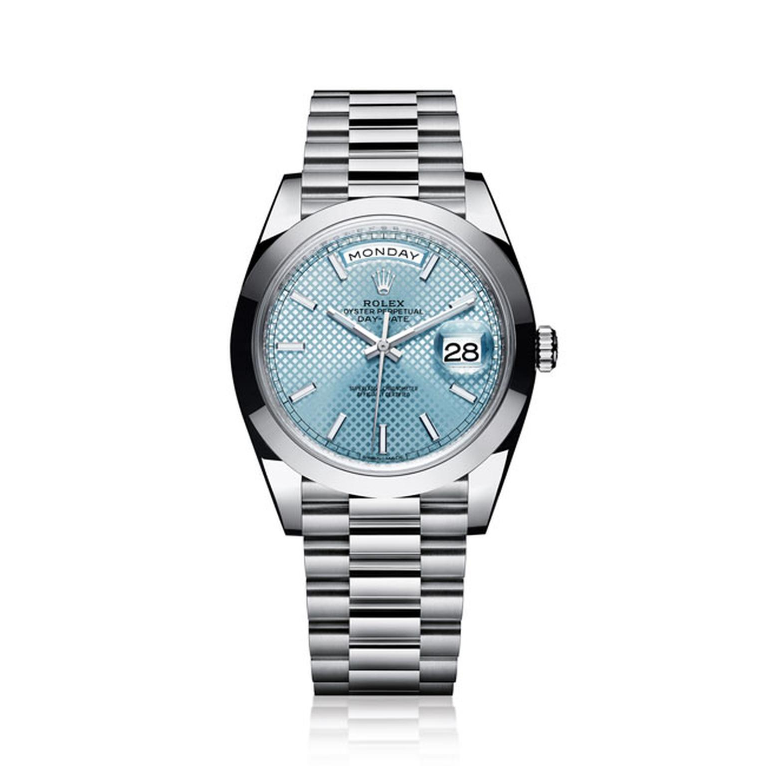 Rolex Day Date Platinum Men's Watch_main
