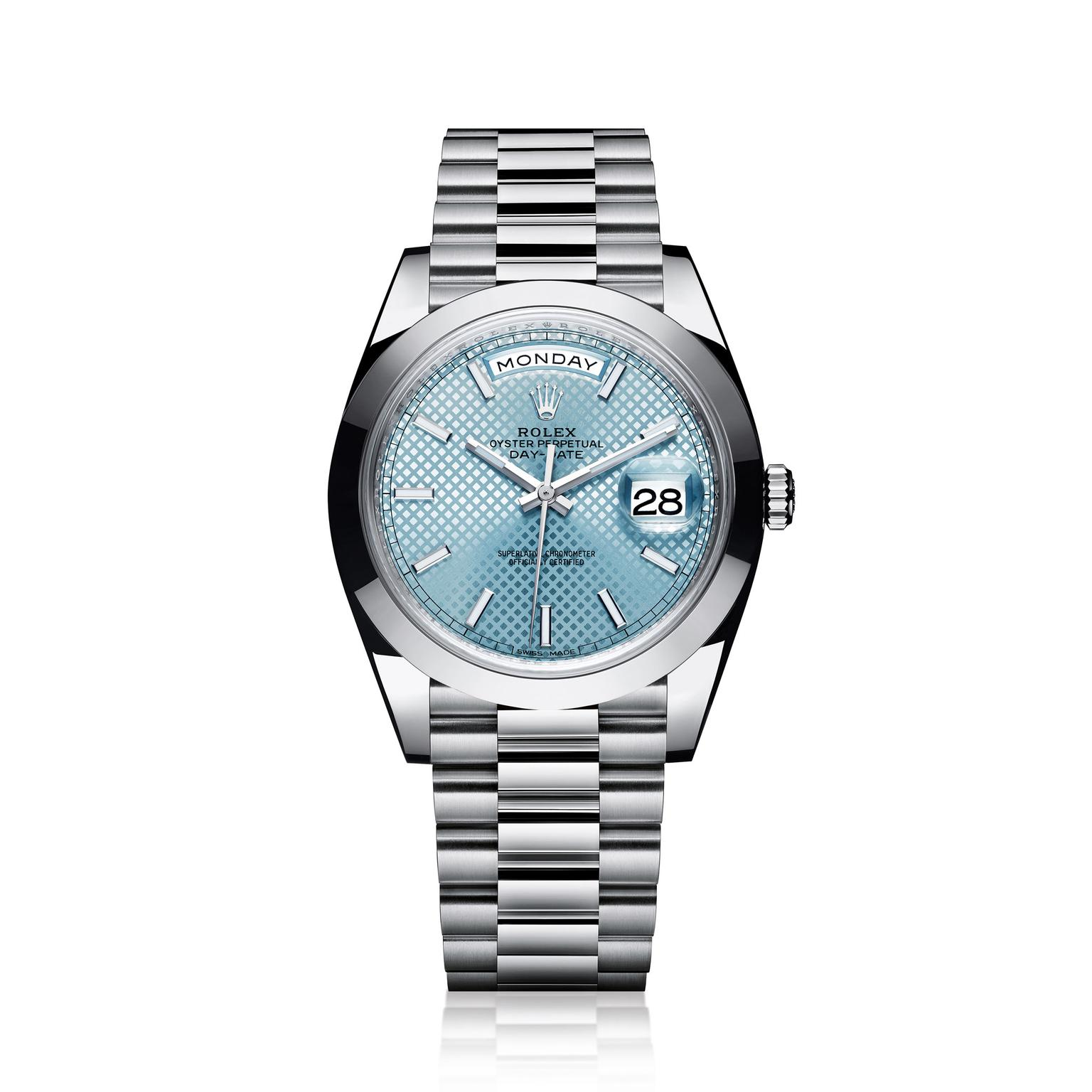 Rolex Day Date Platinum Men's Watch_zoom