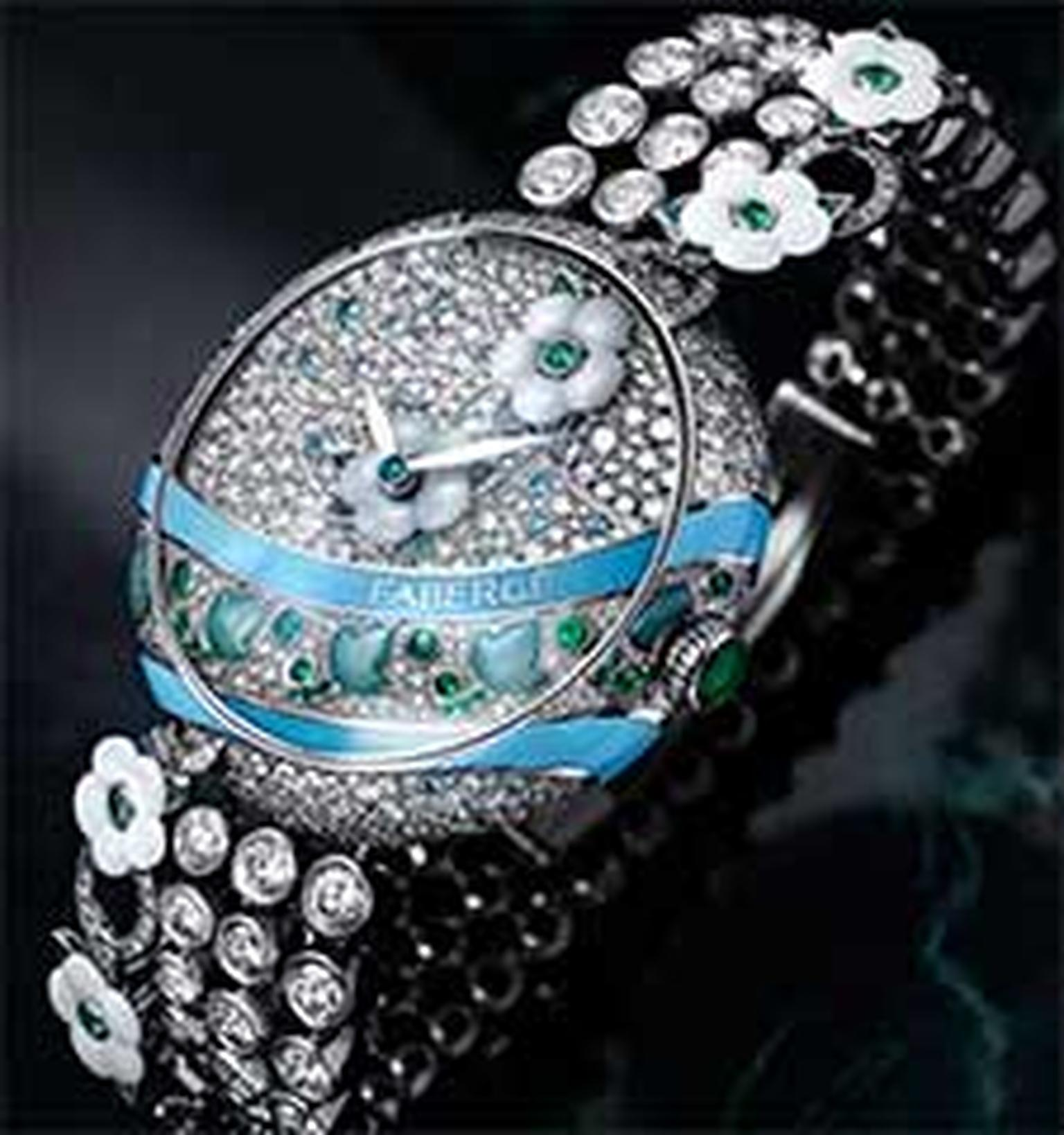 Fabergé jewellery watch