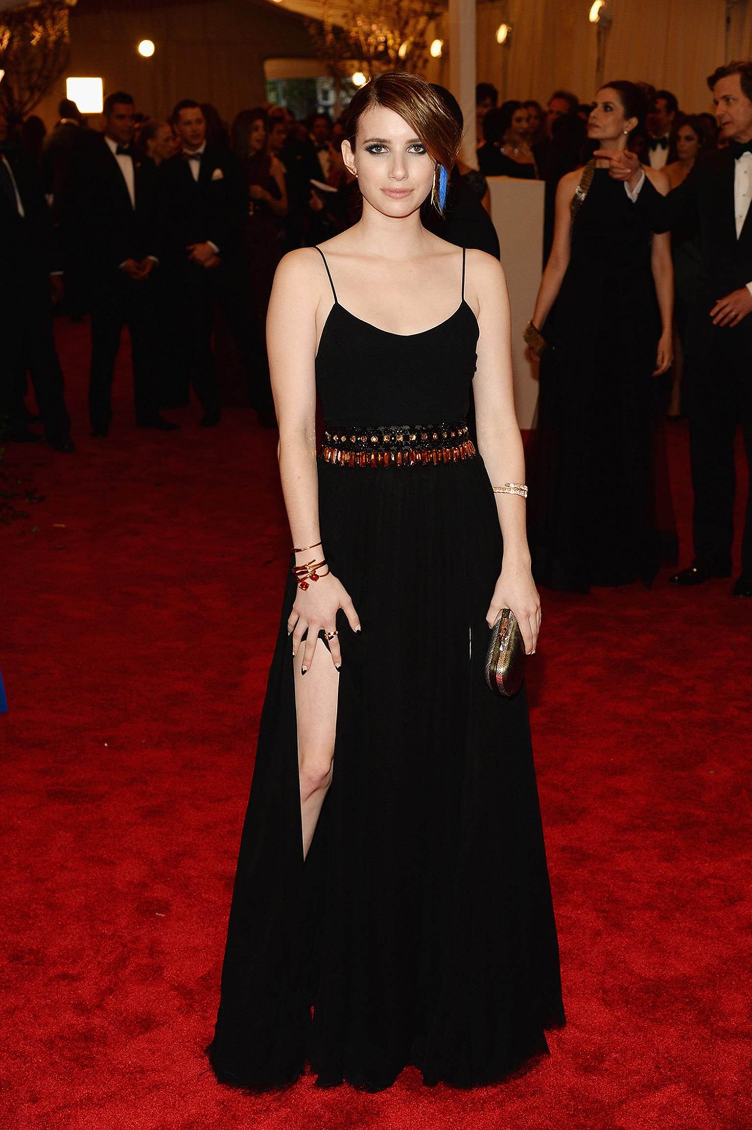 The punk theme at the 2013 Met Ball meant some exciting jewels on the red carpet