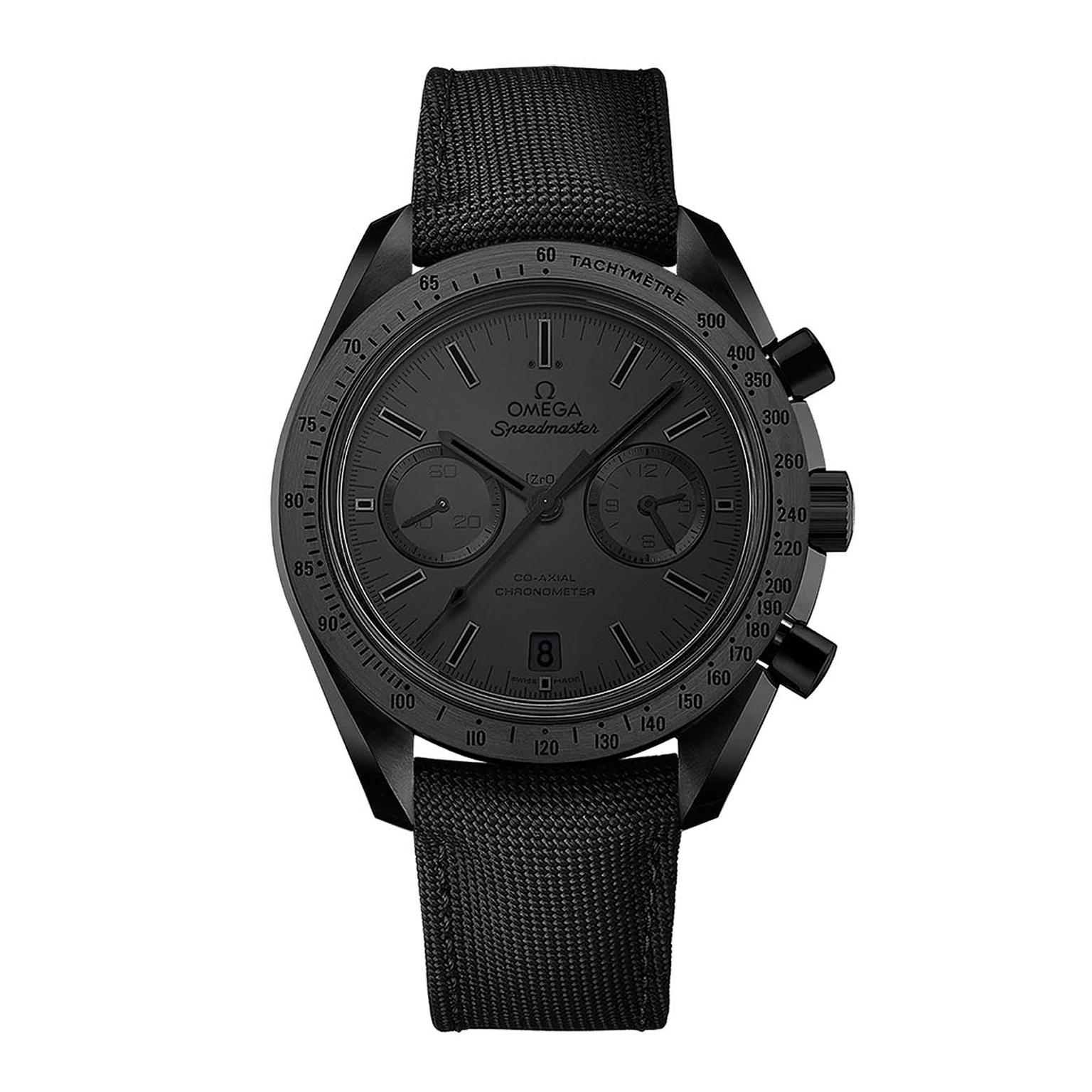 Omega Dark Side of the Moon watch in Black Black__zoom