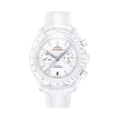 Omega Ladies White Side of the Moon watch_zoom
