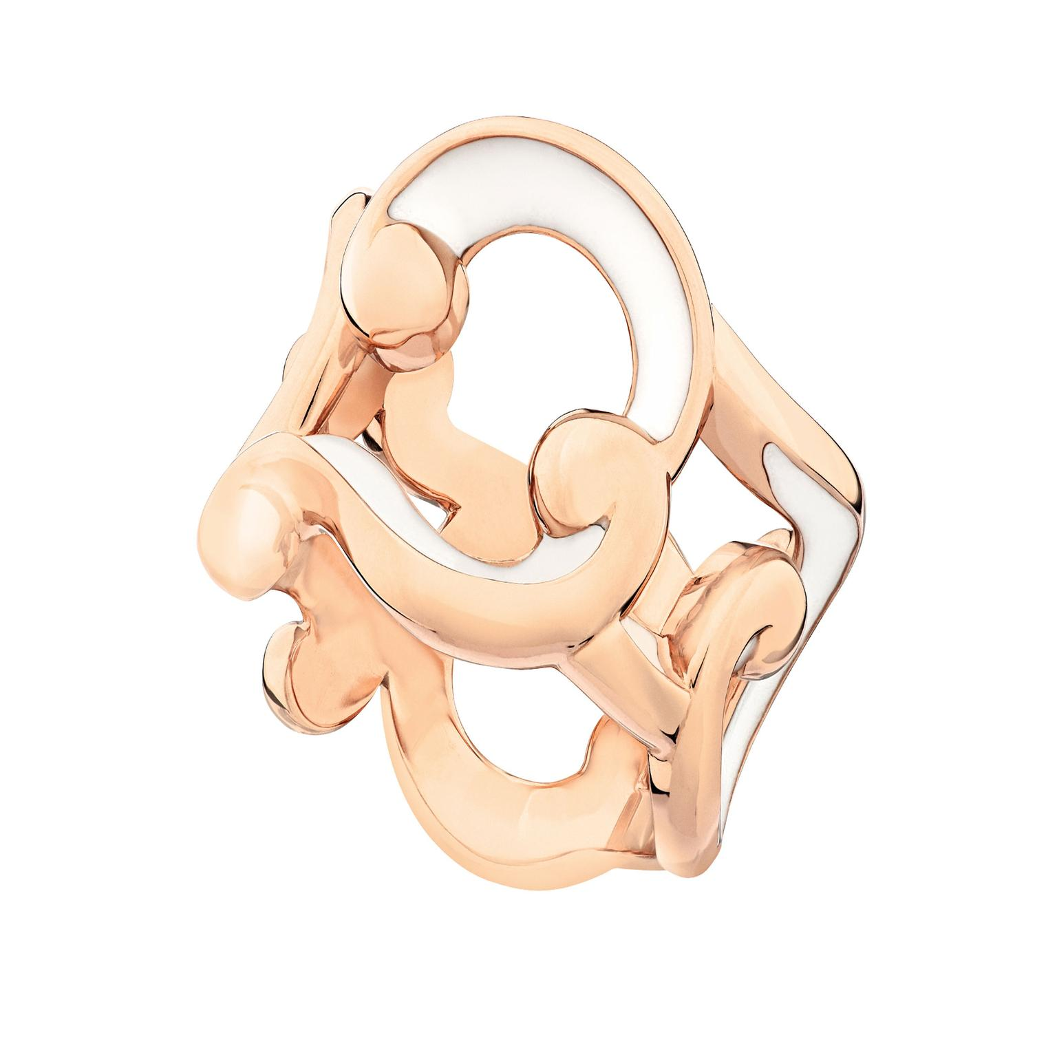 Faberge Rococo rose gold ring_zoom