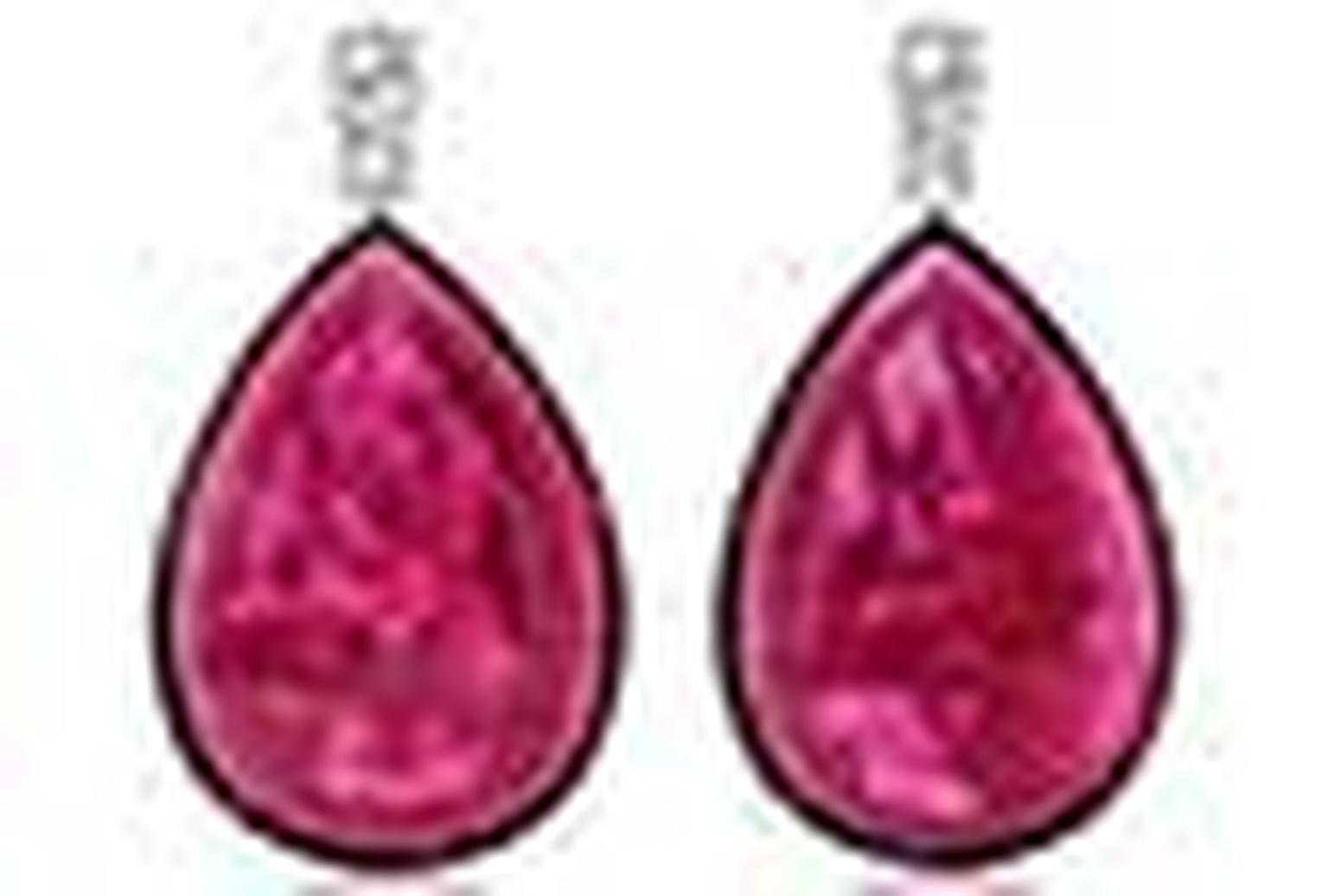 Ara Vartanian rubellite earrings NL