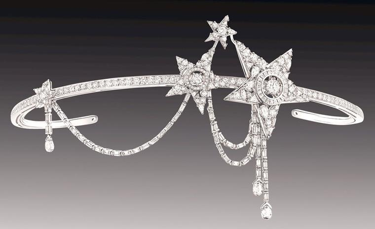 Chanel Etoile fillante head jewel