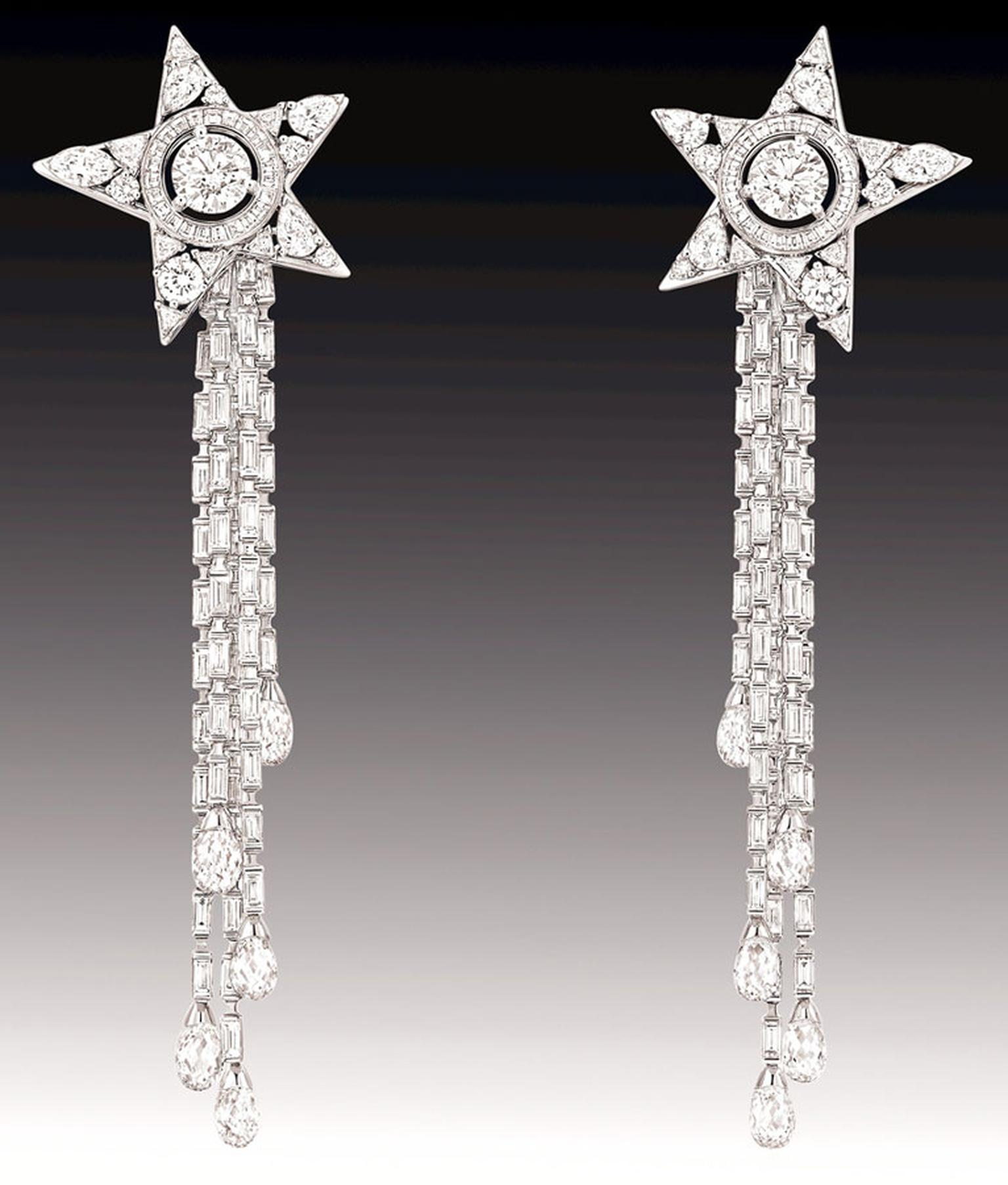 Chanel Etoile Filant earrings