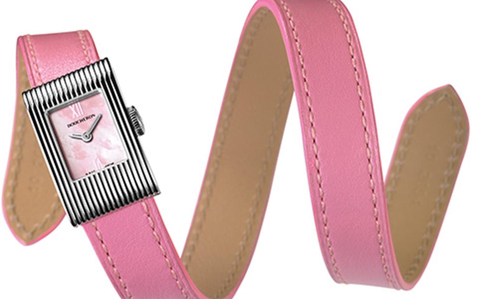 Boucheron Reflet on pink double strap HP