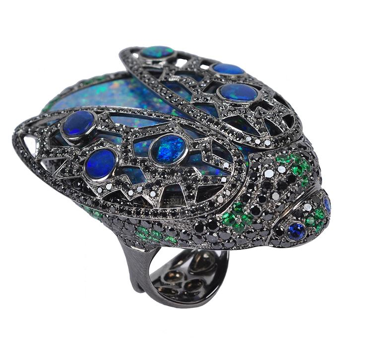 Opals spark a new trend at Couture 2013