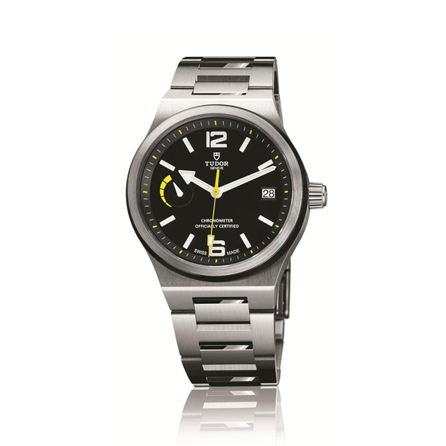 Tudor North Flag mens watch with solid steel bracelet_main