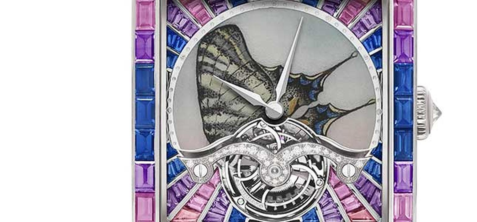 De Laneau -Butterfly -Dome -watch