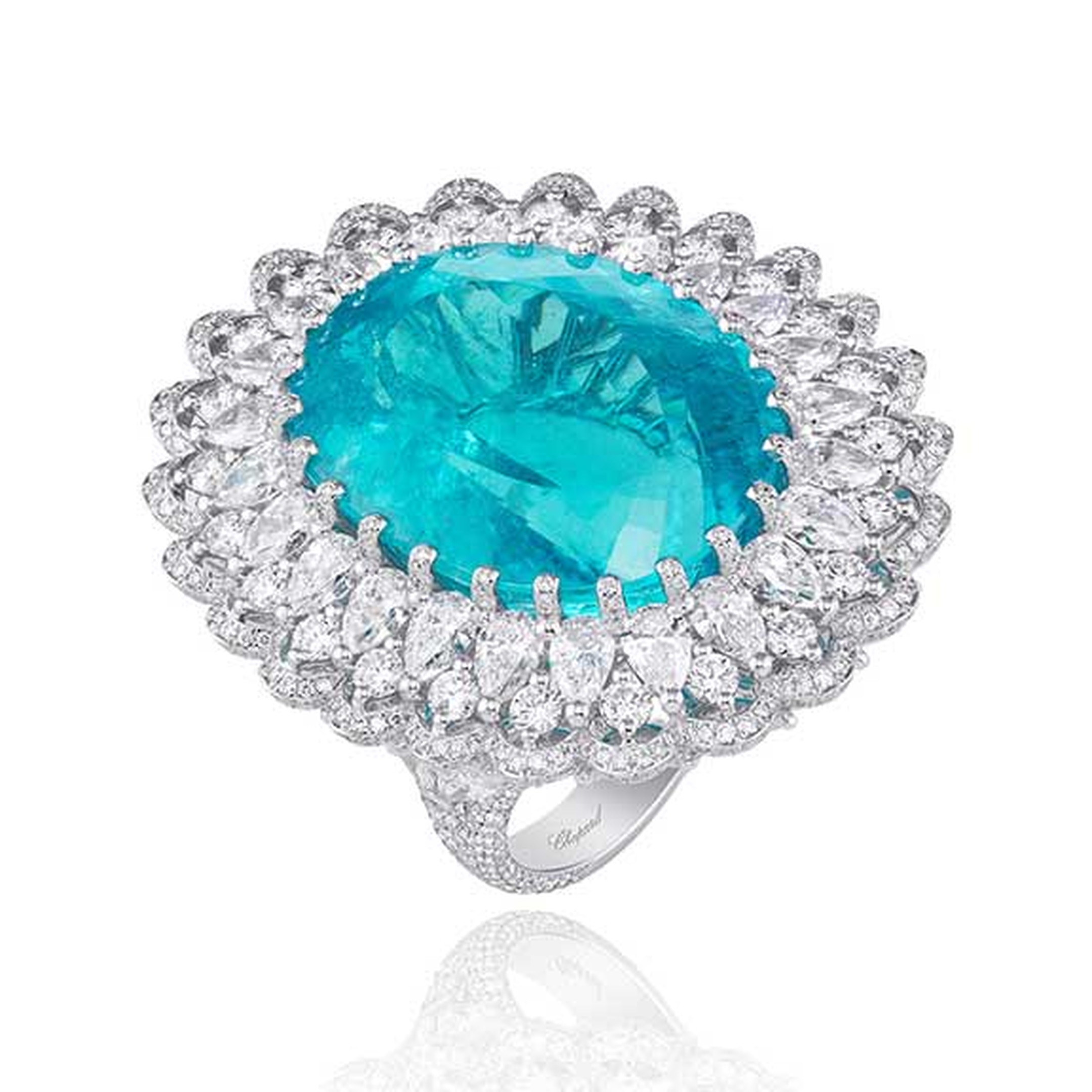 Chopard -high -jewellery -Paraiba -tourmaline -ring