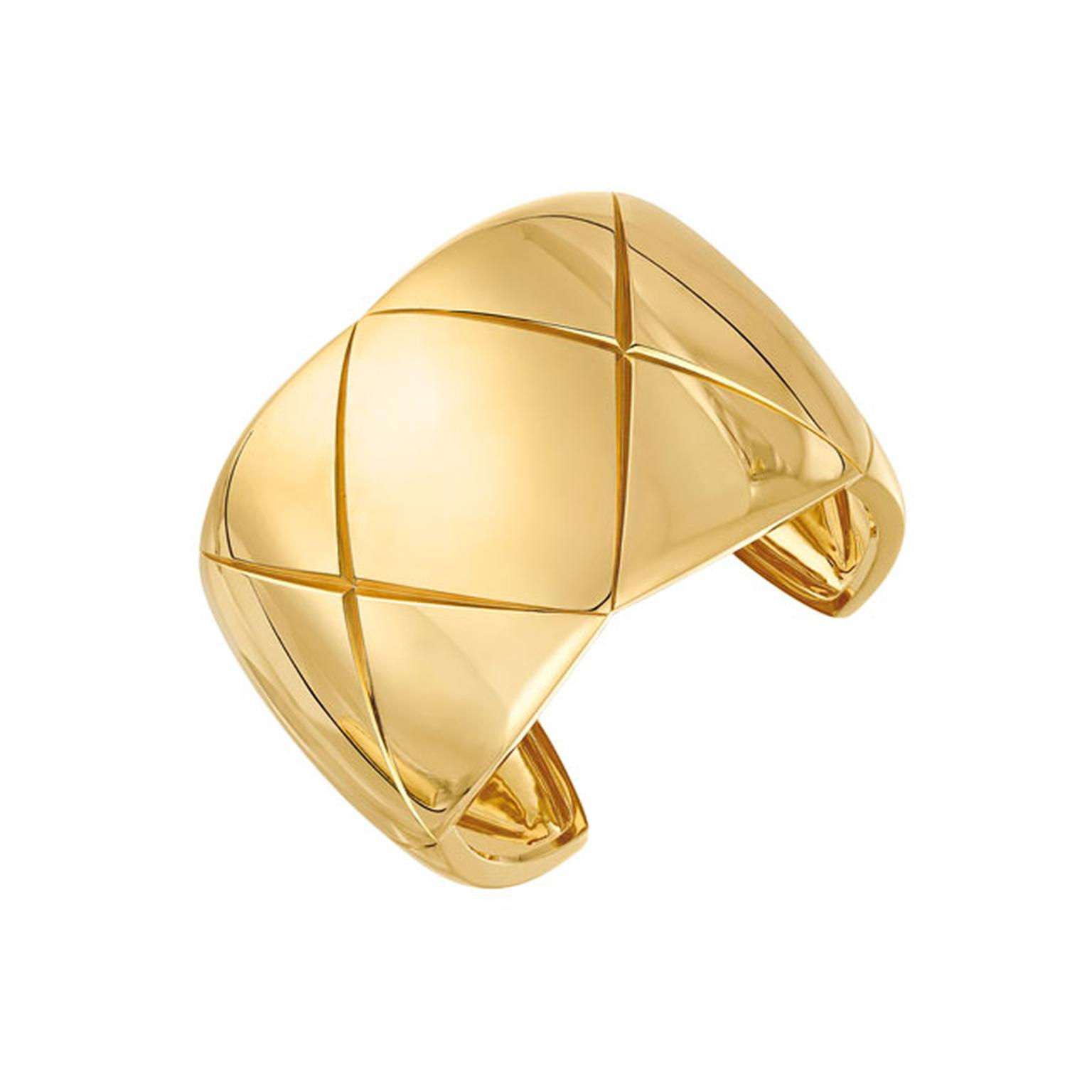 Chanel Coco Crush Yellow Gold Cuff_main