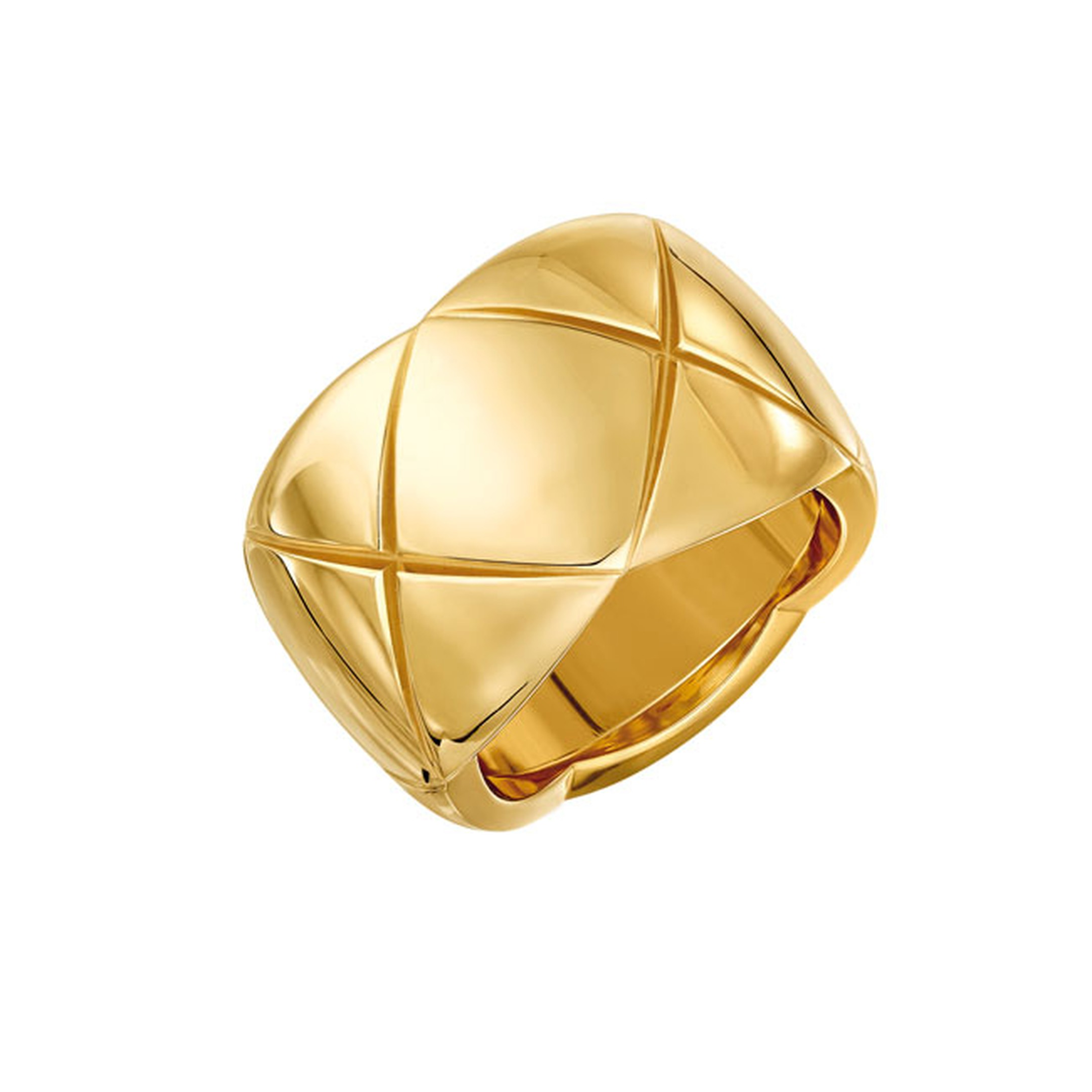 Chanel Coco Crush Yellow Gold large ring_main