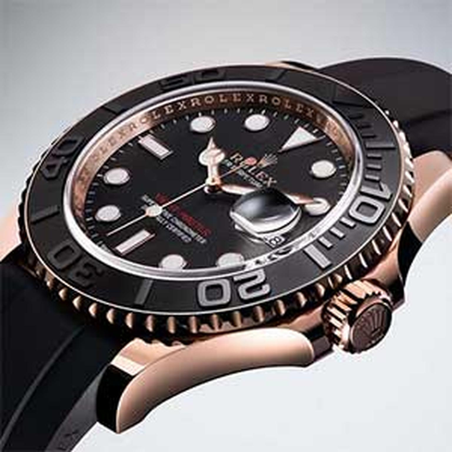 Rolex -Yacht -Master -watch -black