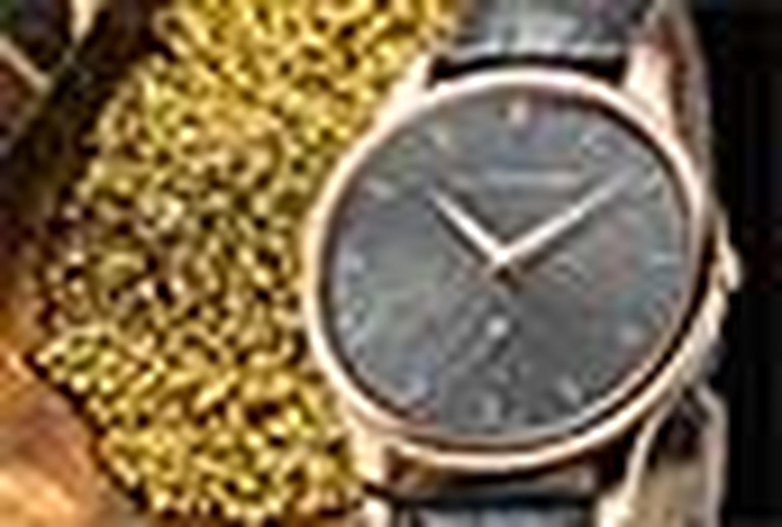 Chopard LUC watch Fairmined gold