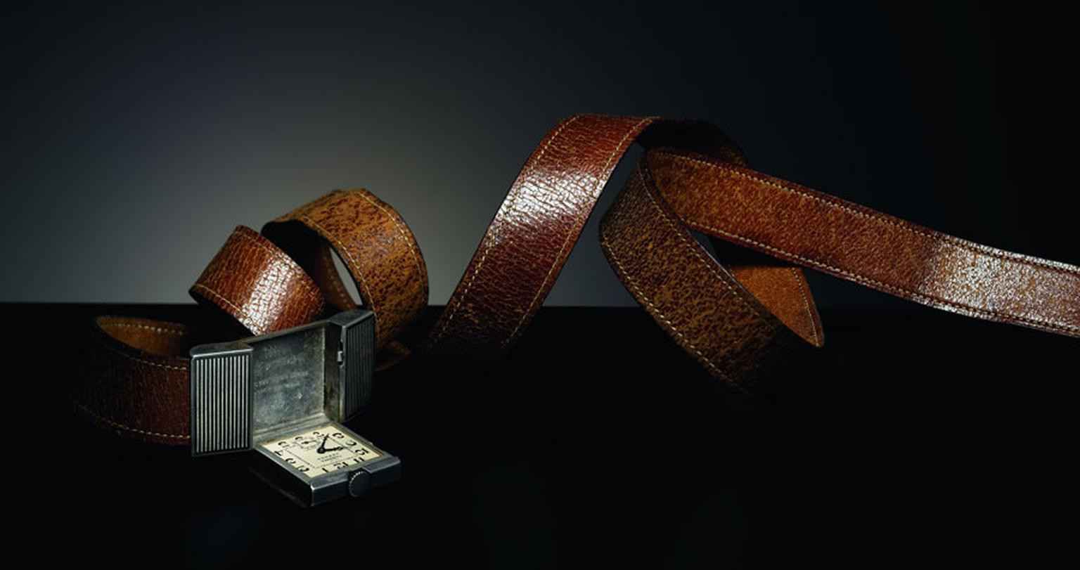 Hermes. Belt watch around 1930
