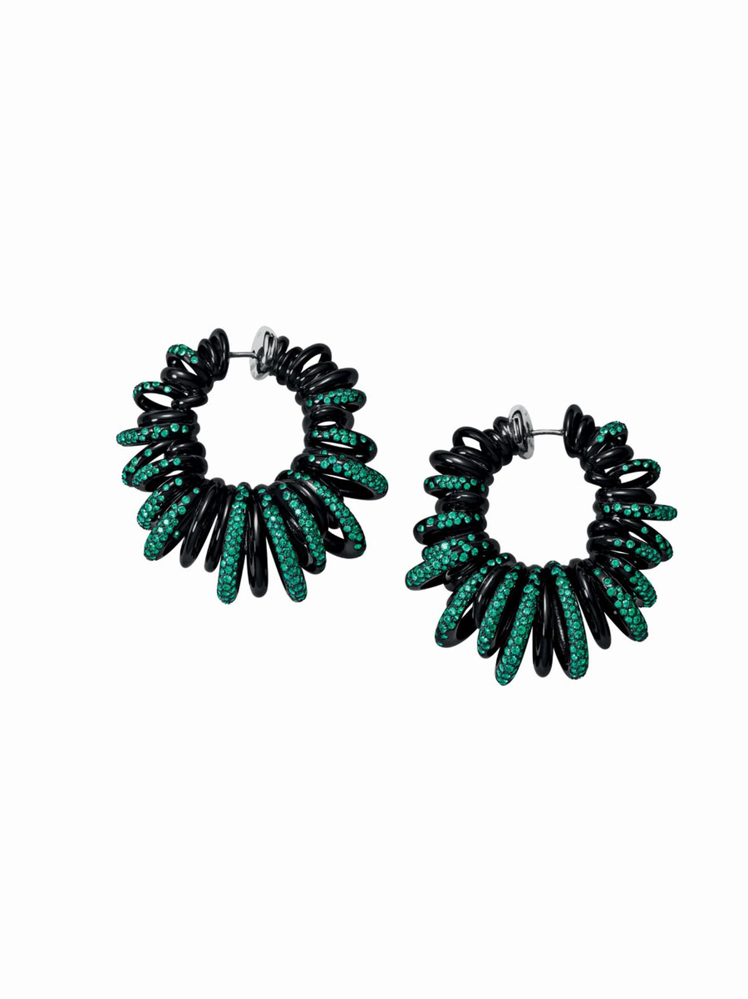 Sun-inspired earrings from de GRISOGONO's 'Sole' collection.