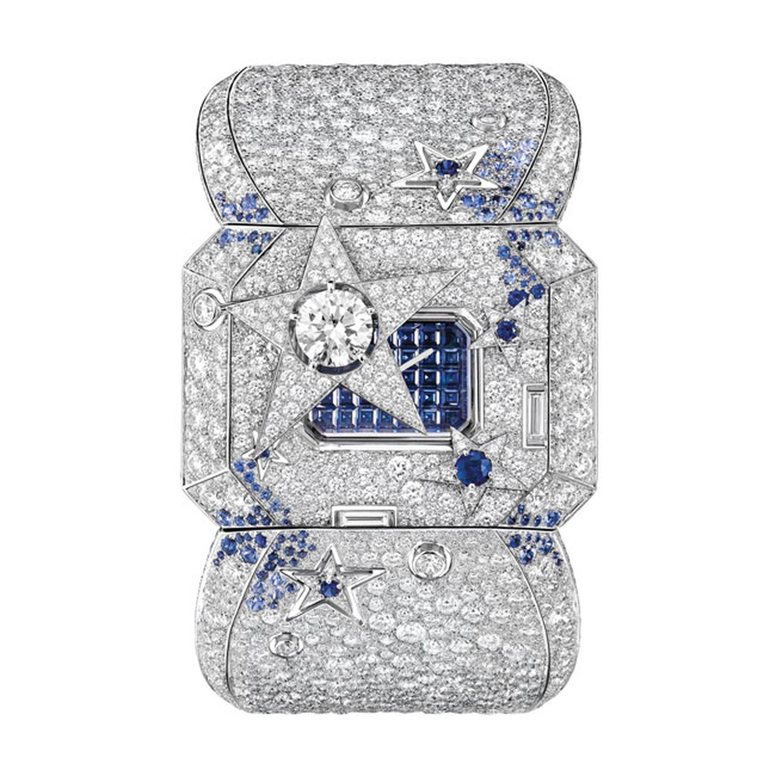 Chanel high jewellery Cométe secret diamond watch_main