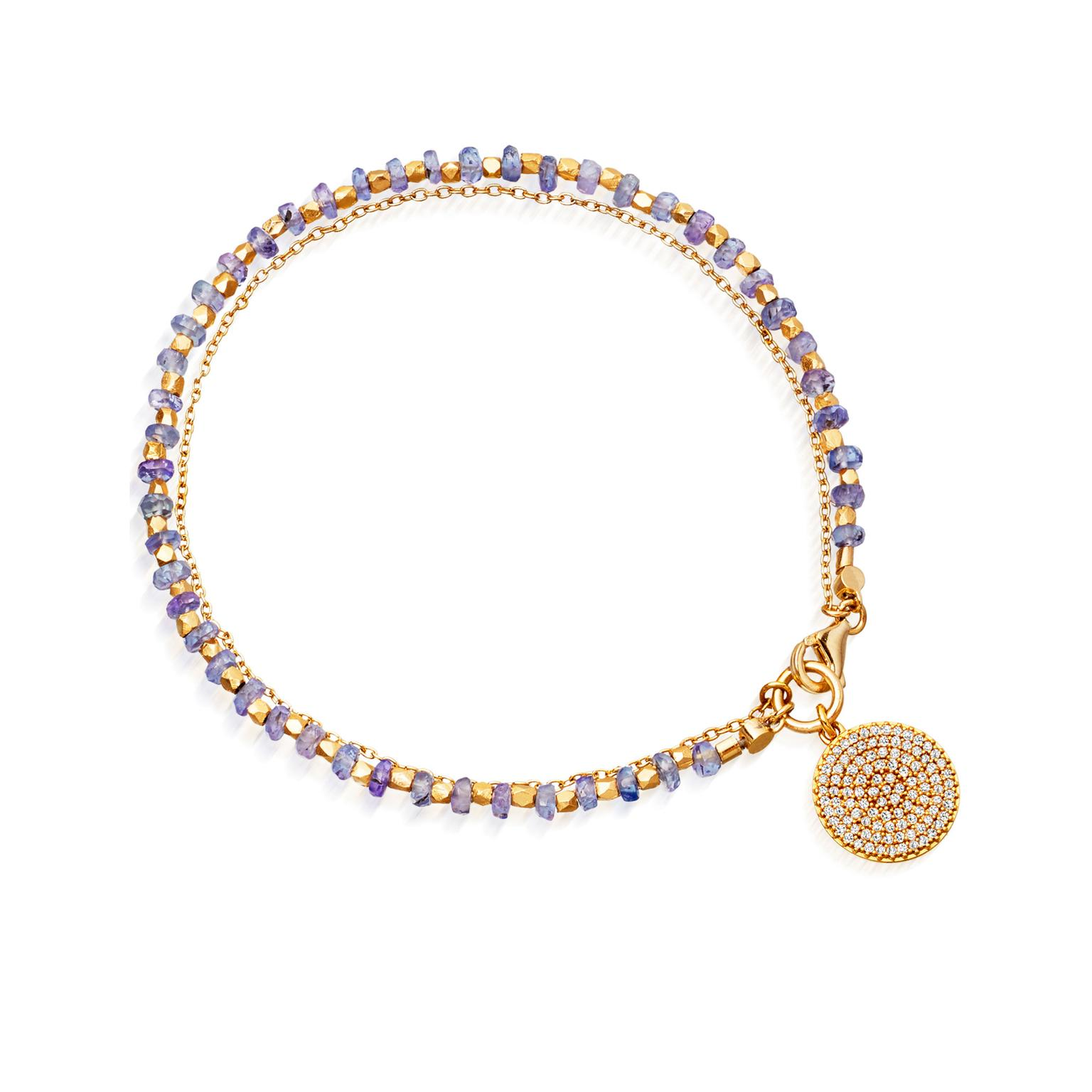 Astley Clarke Fine Biography Tanzanite Icon friendship bracelet_zoom