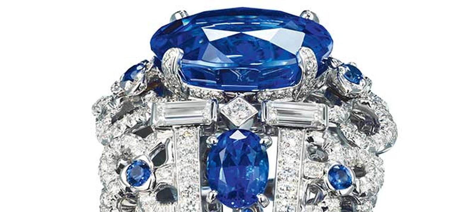 Chaumet -Hortensia -sapphire -and -diamond -ring