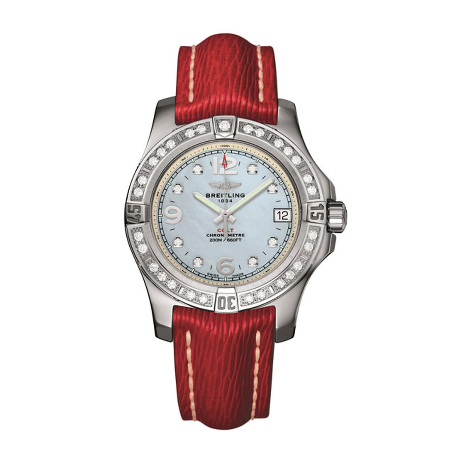 Breitling Colt 36 gem set womens watch_main