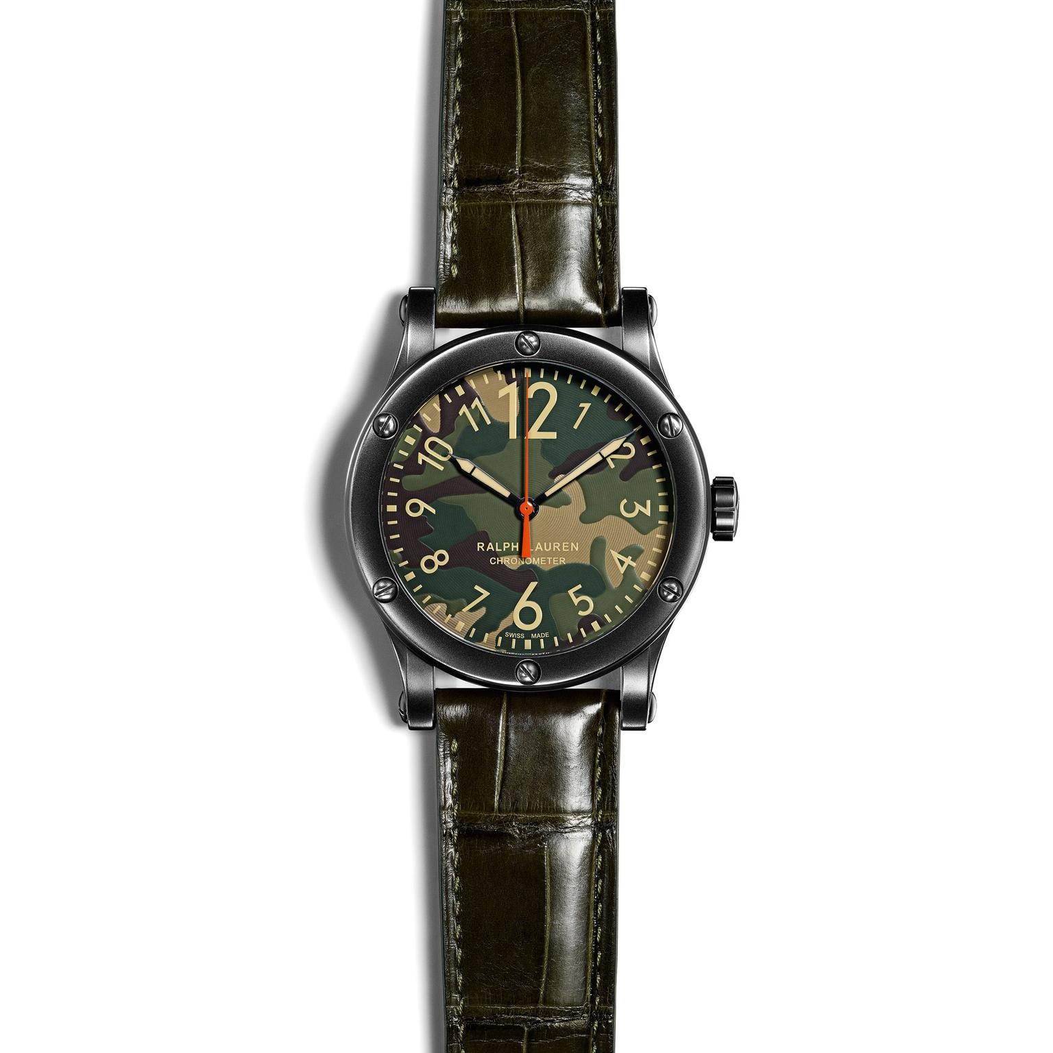 Ralph Lauren safari watch with camo dial_zoom