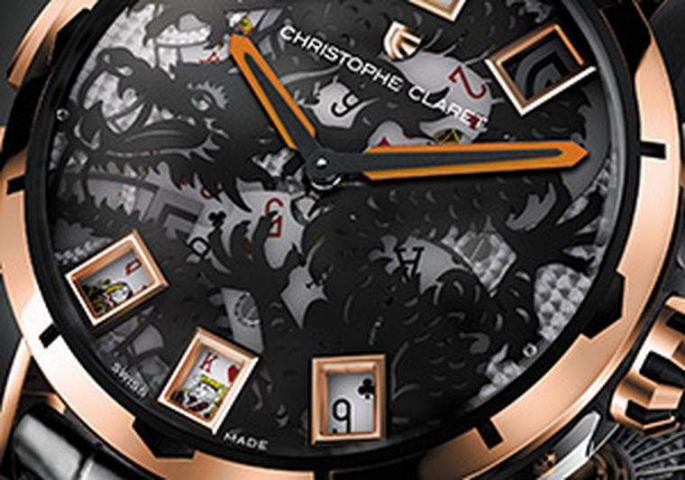 Christophe Claret's Baccara: a casino for the wrist