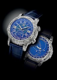 The new Sky Moon Tourbillon by Patek Philippe with 12 complications
