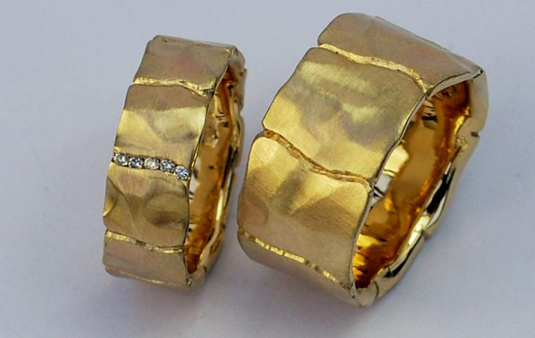 Deborah Kelly Hopkins Wedding Rings