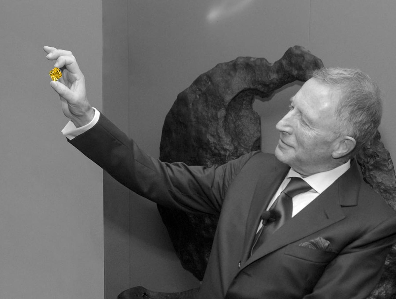 On 21 April 2014, Graff Diamonds received a coveted Queen's Award, less than a year after chairman Lawrence Graff, pictured, was awarded an OBE for his services to jewellery