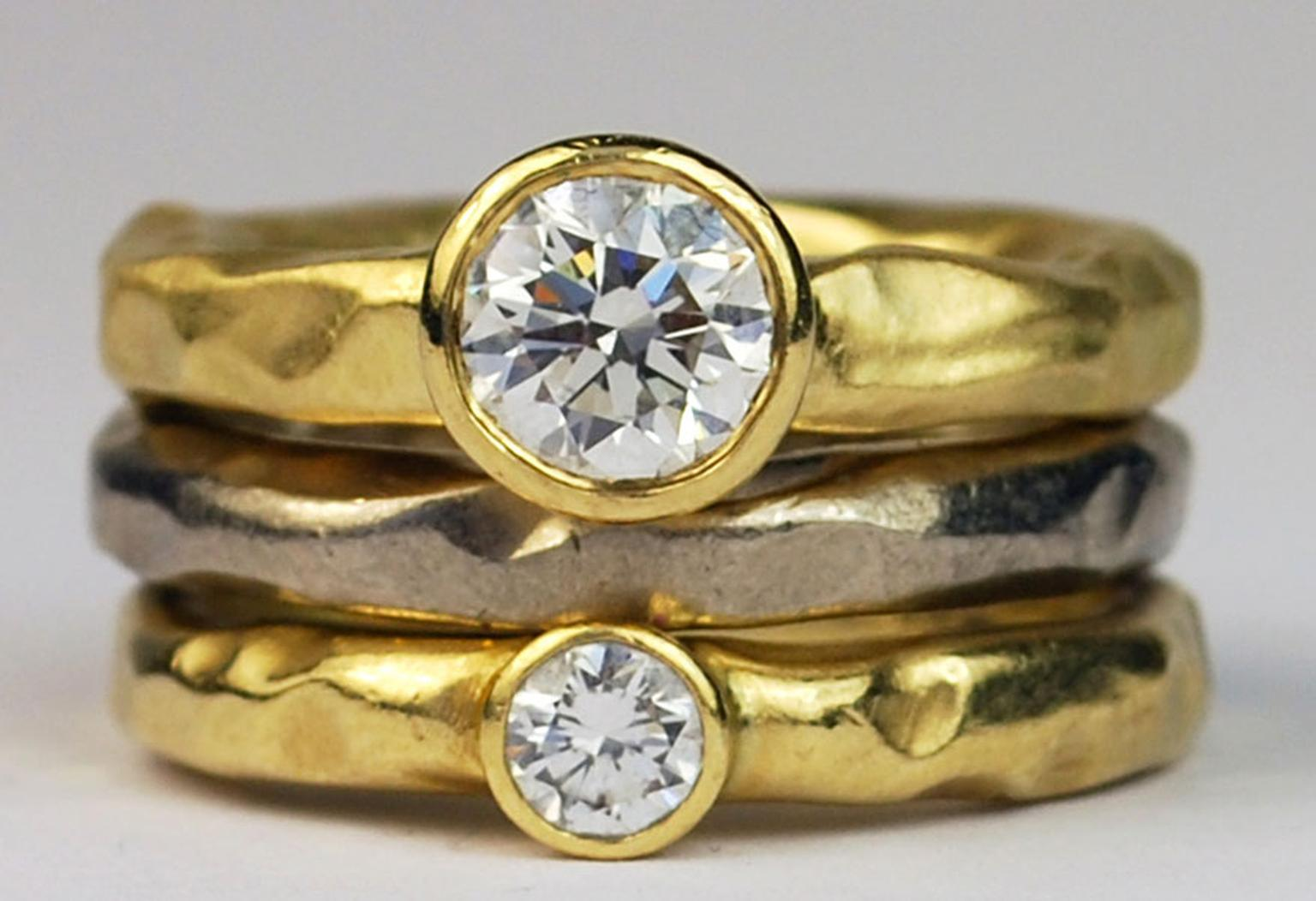 Kath Libbert. Deborah-Kelly-Hopkins_18ct-gold-rings-set-with-diamonds