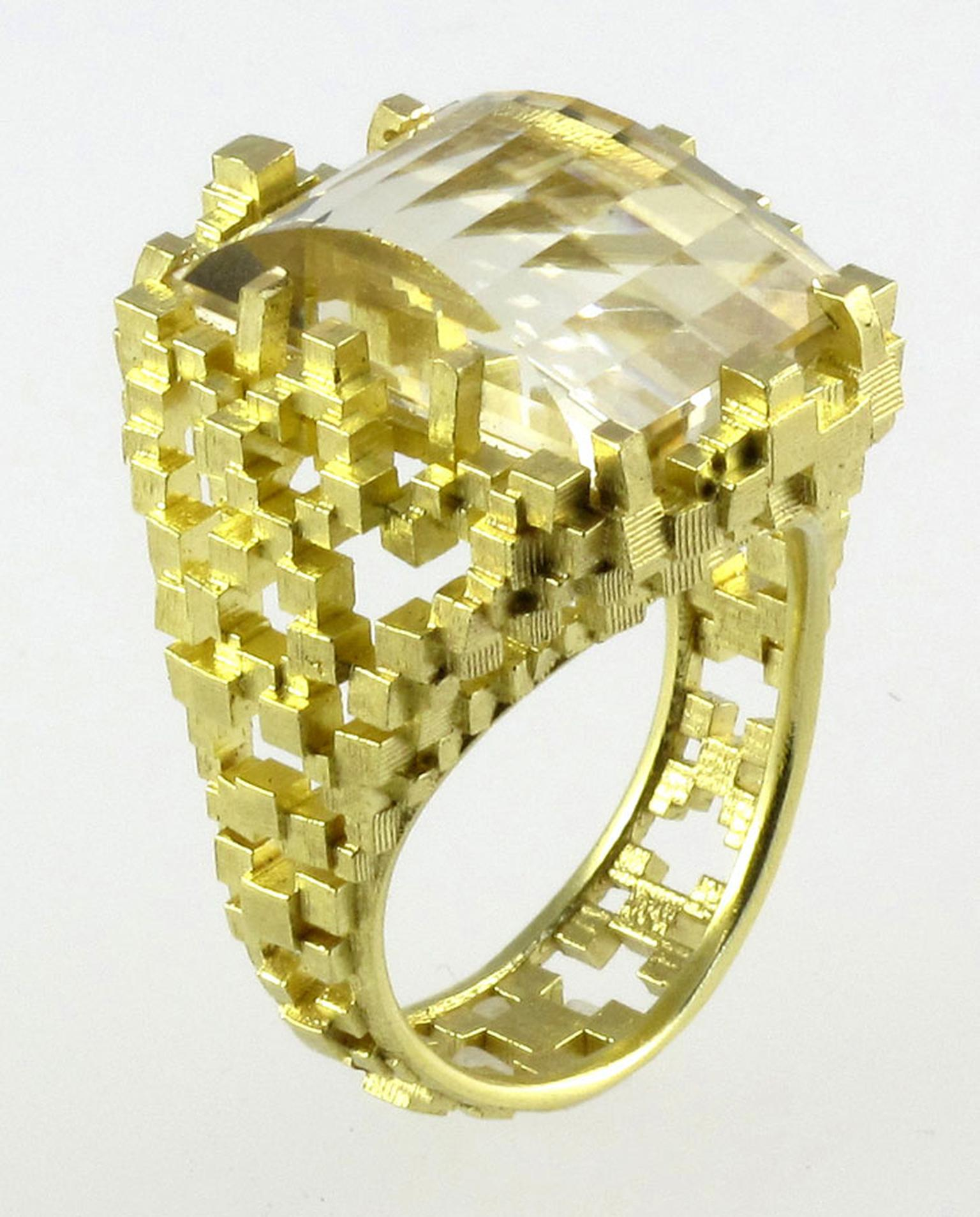 Kath Libbert. Jo-Hayes-Ward_Ring-in-18ct-yellow-gold-with-citrine