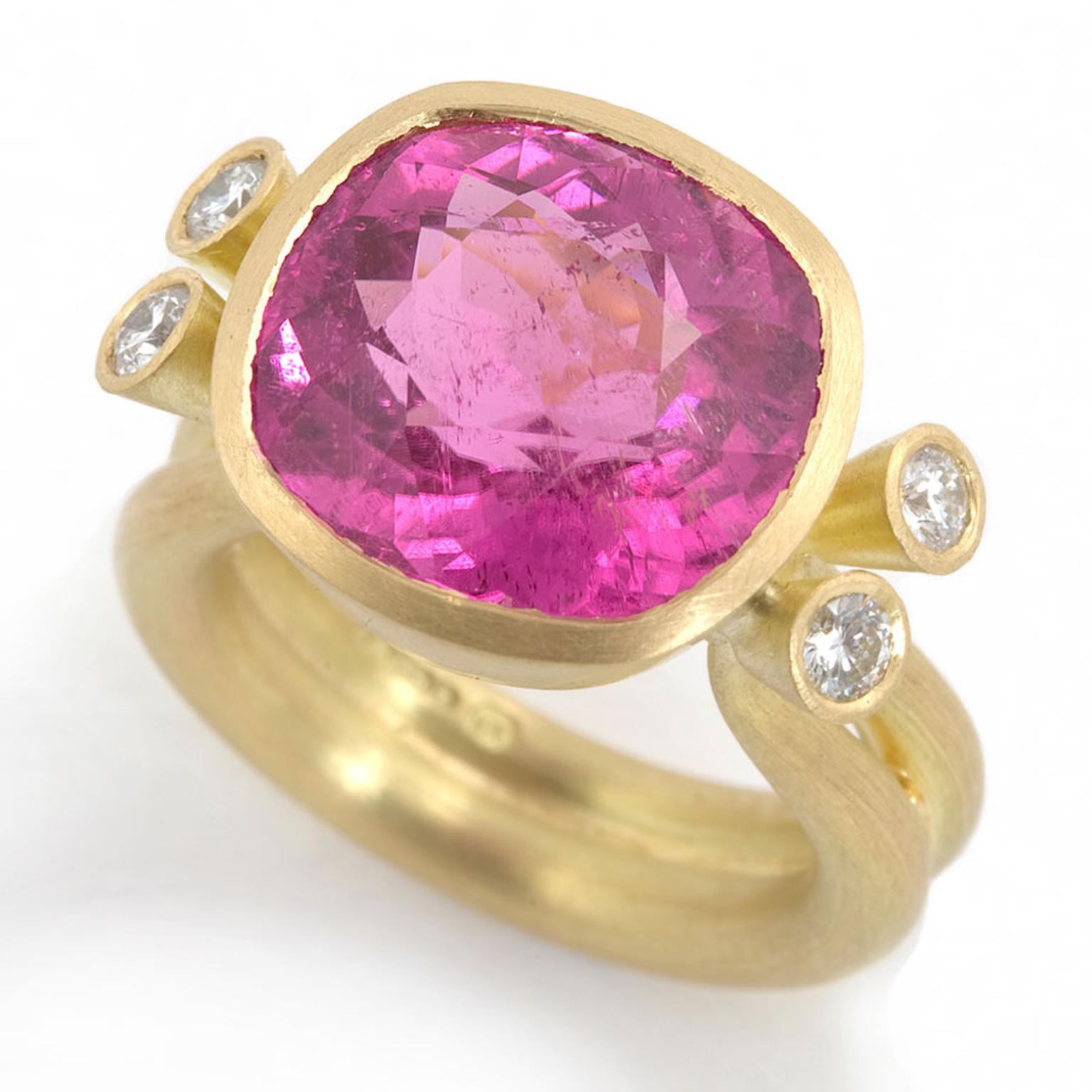 Kath Libbert. Mark-Nuell_Ring-with-pink-tourmaline-and-diamonds