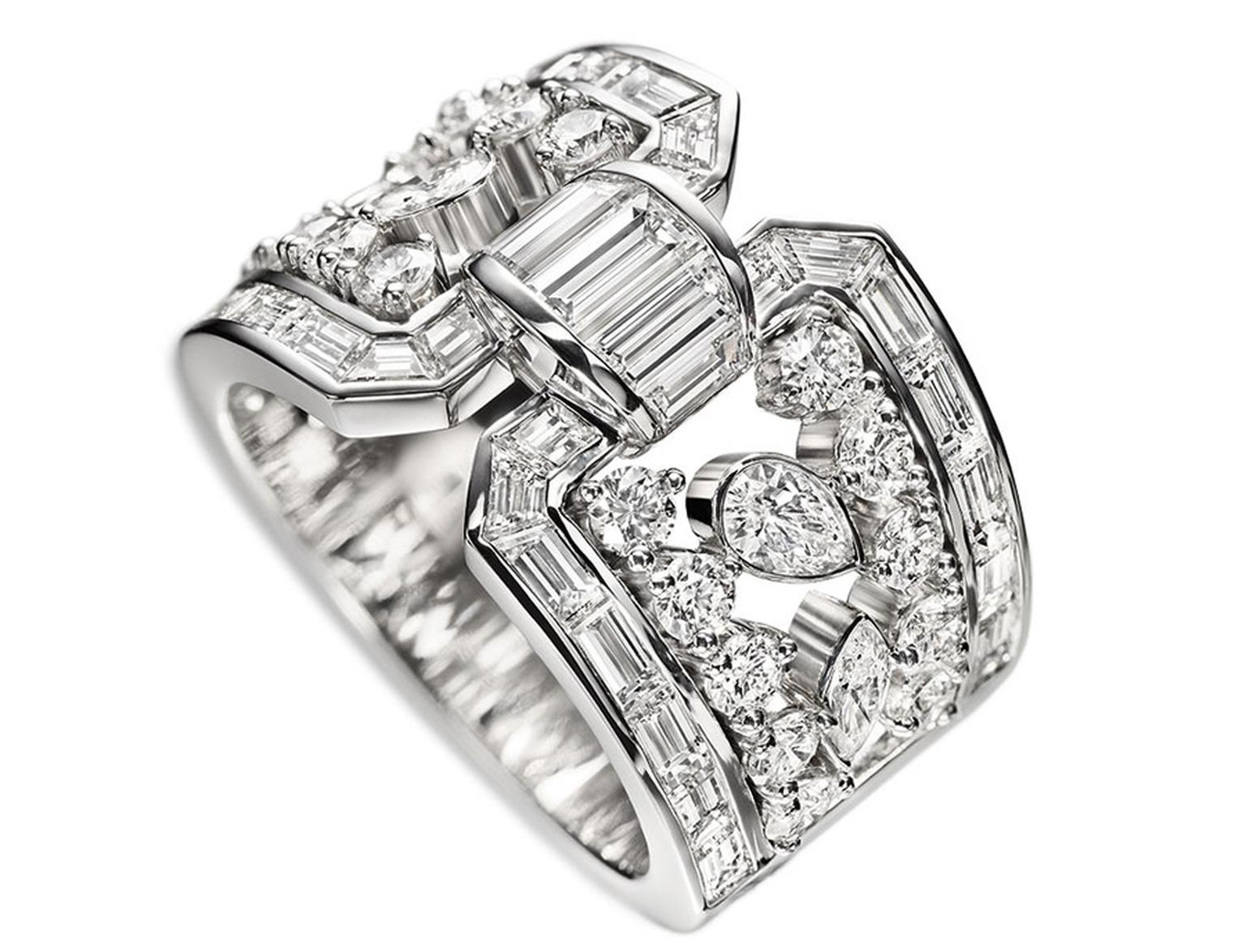 Harry Winston Caftan Diamond Ring