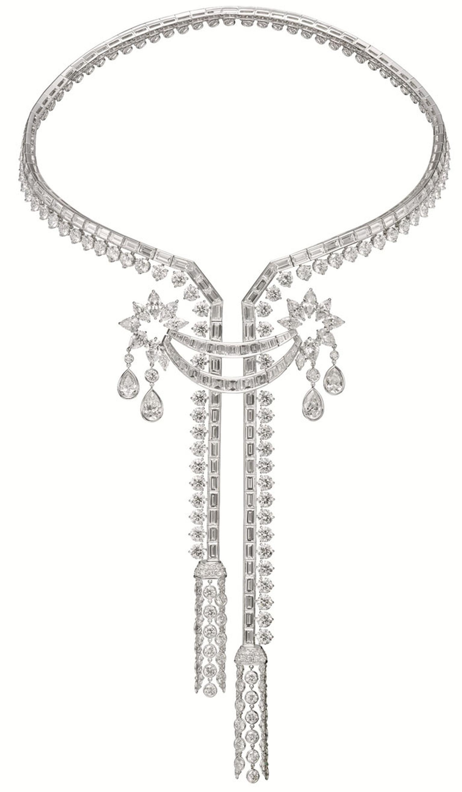 Harry Winston Caftan Diamond Necklace