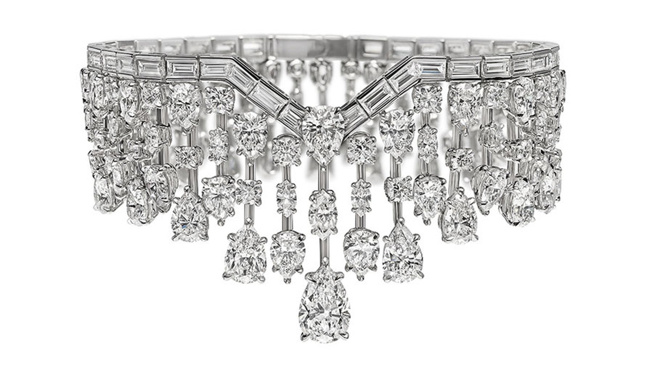 Harry Winston Mrs Winston Diamond Bracelet