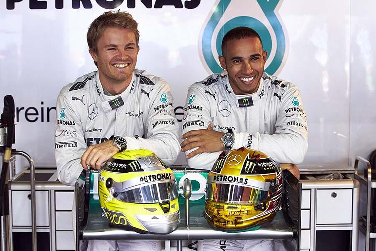 IWC appoints Formula 1 aces Lewis Hamilton and Nico Rosberg as new ambassadors