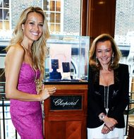 Chopard launches charity bracelet with model Petra Nemcova